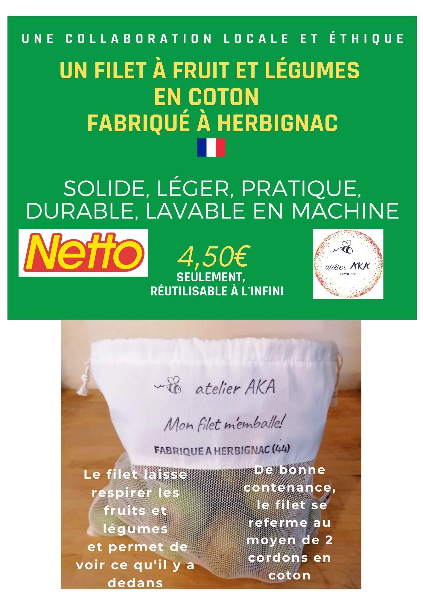 #monfilet m'emballe et Netto