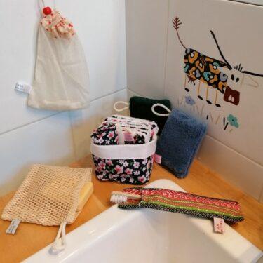 la salle de bain zéro déchet